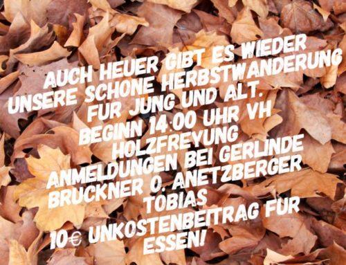Herbstwanderung der DJK