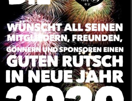 Neujahrsglückwünsche
